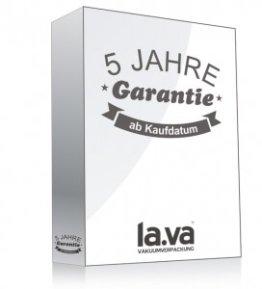 Garantie Lava Vakuumierer
