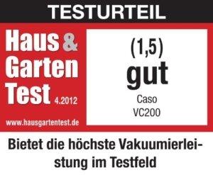 Caso Vc200 Test Vakuumierer