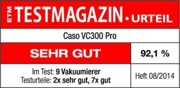 Caso Vc300 Testsieger vergleich